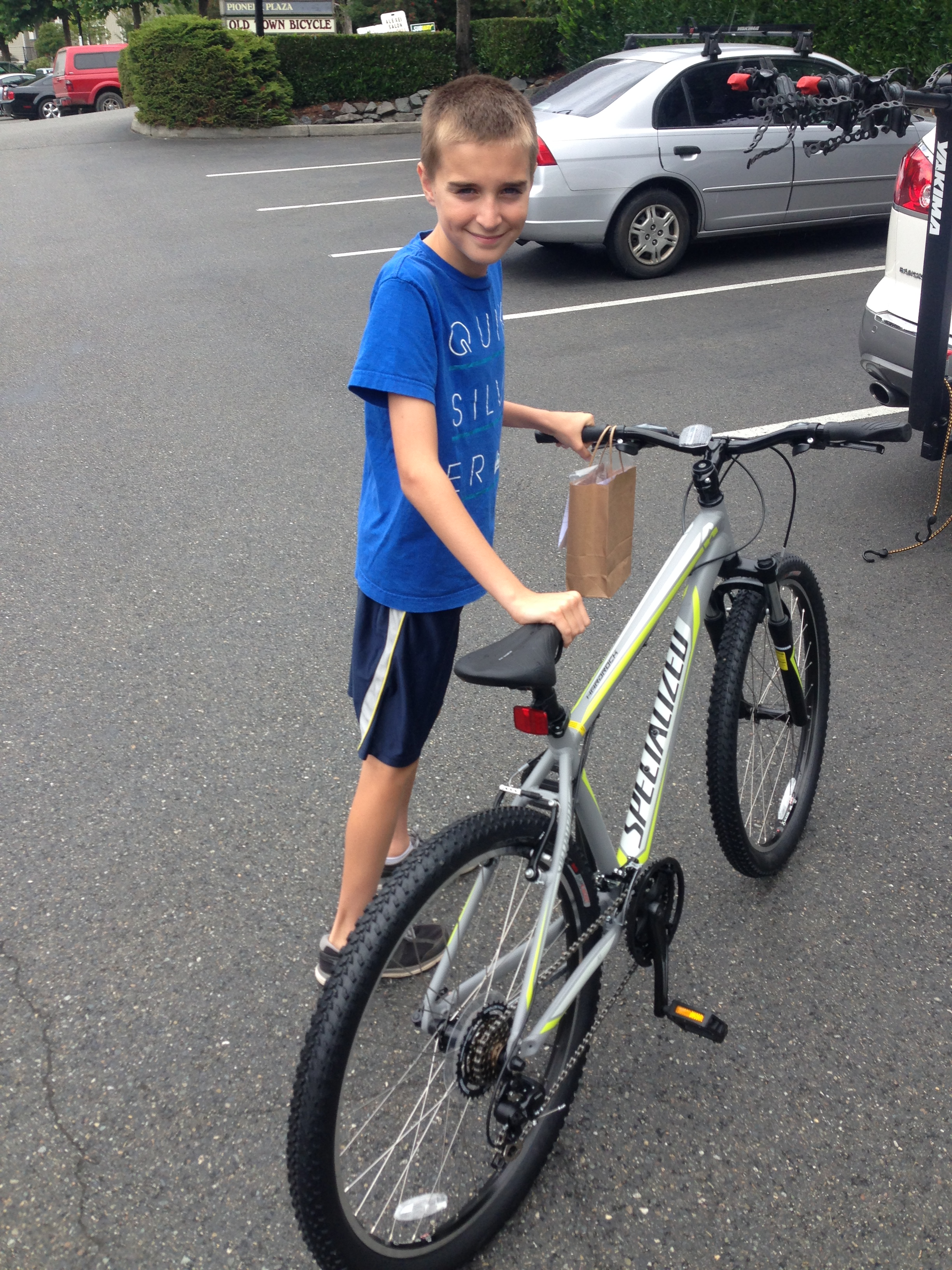 Noah's New Bike