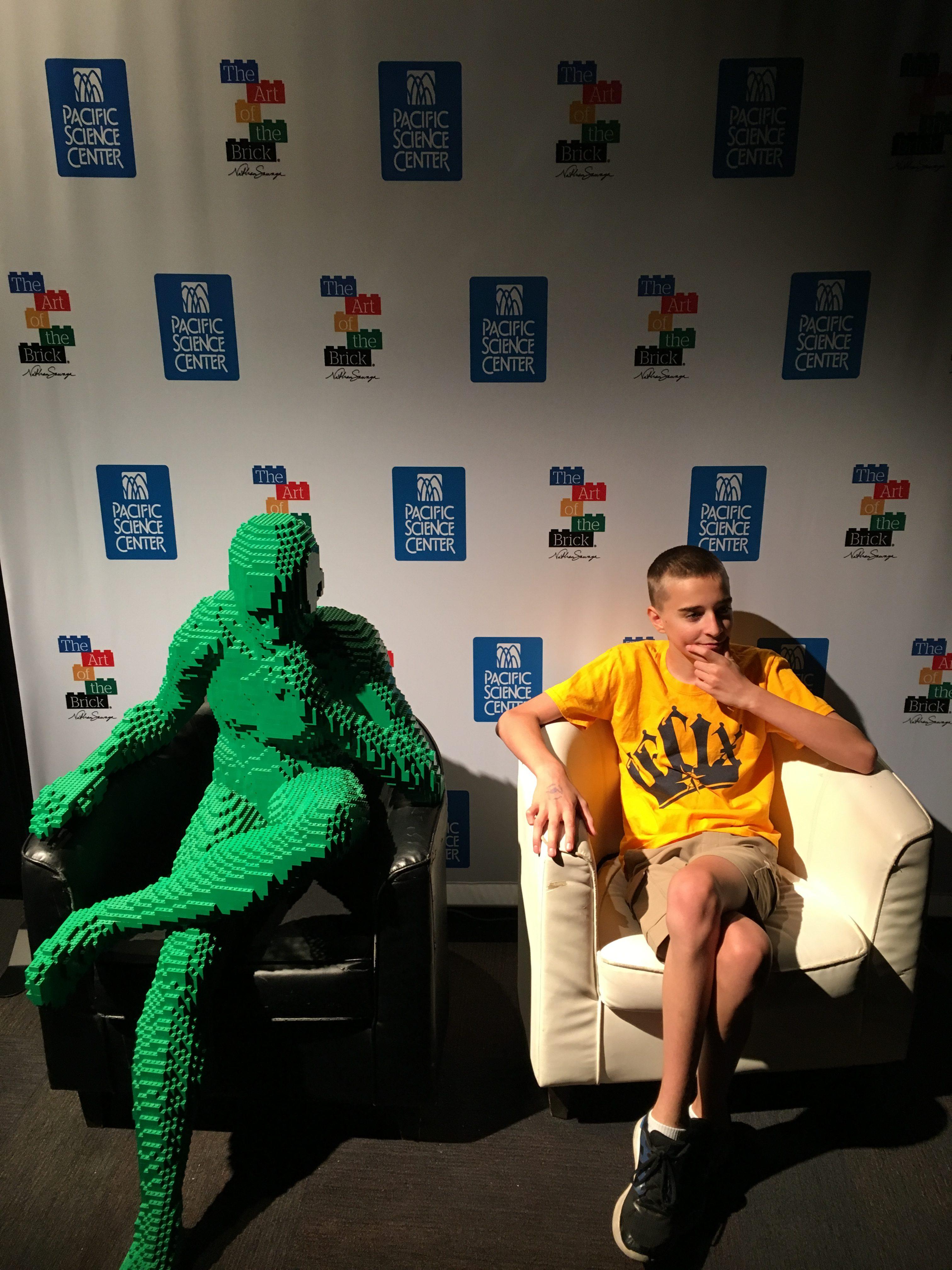 Noah vs. Lego Man